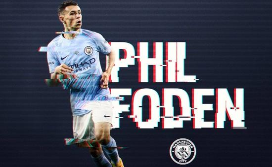 Phil Foden ngôi sao trẻ đắt giá nhất châu Âu, Man Utd đóng góp 3 ngôi sao trong top 10