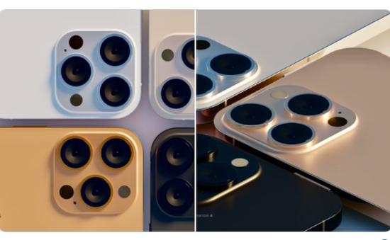 Lộ diện 4 tùy chọn màu sắc siêu đẹp của iPhone 13