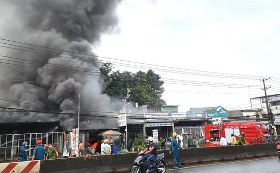 Đồng Nai: Kịp thời khống chế vụ cháy gần một cây xăng