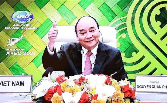 Chủ tịch nước Nguyễn Xuân Phúc: APEC cần chạy đua với thời gian đối phó dịch COVID-19