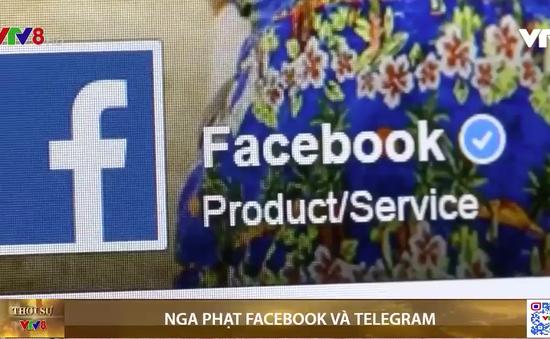 Nga phạt Facebook và Telegram