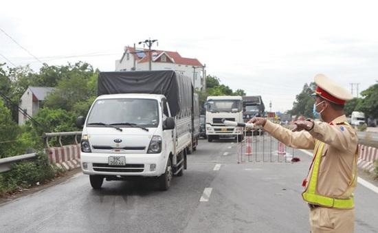 Phân luồng từ xa với phương tiện không đi vào Hà Nội