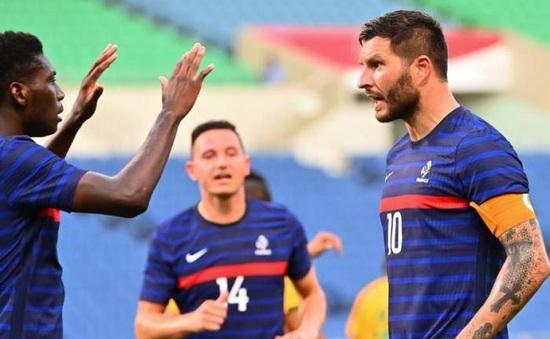Olympic Tokyo 2020: Pháp thắng kịch tính Nam Phi trong cơn mưa bàn thắng   Bảng A bóng đá nam