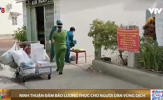 Ninh Thuận đảm bảo lương thực cho người dân trong vùng dịch