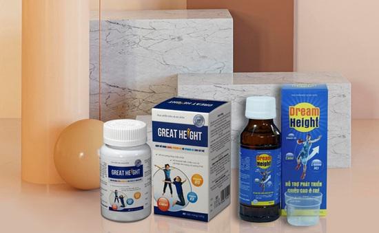 Thực phẩm hỗ trợ tăng chiều cao Great Height bí quyết giúp trẻ cao lớn