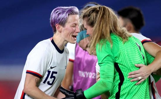 ĐT Hà Lan 2-2 (2-4 pen) ĐT Mỹ: Nhà ĐKVĐ thế giới giành quyền vào bán kết bóng đá nữ bóng đá nữ Olympic Tokyo 2020