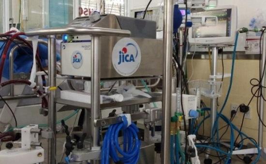 JICA cung cấp trang thiết bị khẩn cấp cho Bệnh viện Chợ Rẫy để điều trị bệnh nhân COVID-19