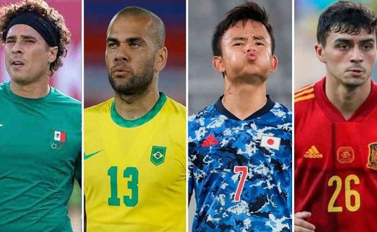 Lịch thi đấu tứ kết bóng đá nam Olympic Tokyo (ngày 31/7)