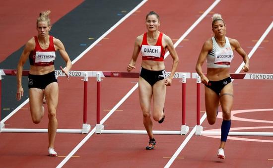 """Quách Thị Lan: Tôi sẽ quyết """"phục thù"""" ở lượt chạy bán kết   400m rào nữ Olympic Tokyo 2020"""
