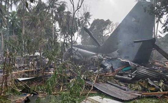 Philippines mở cuộc điều tra vụ máy bay rơi