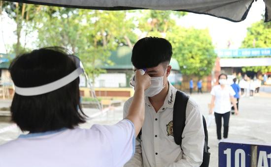 237 thí sinh dự kỳ thi tốt nghiệp THPT 2021 đợt 2 tại Hà Nội