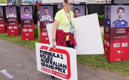 F1 vất vả tìm kiếm sự thay thế các chặng đua bị hủy