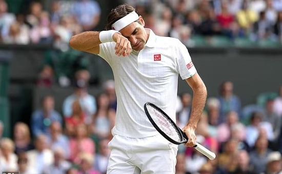 Roger Federer dừng bước tại tứ kết Wimbledon 2021