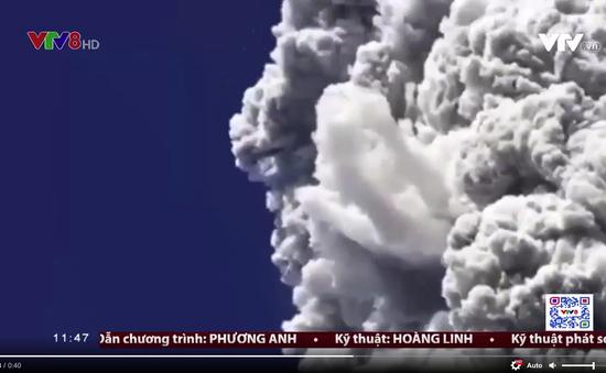 Núi lửa Merapi ở Indonesia tiếp tục phun trào