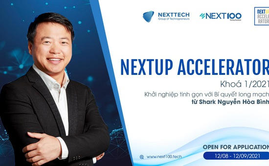 Ra mắt chương trình huấn luyện và tăng tốc khởi nghiệp NextUP Accelerator