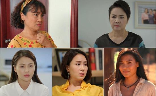 VTV Awards 2021: Hai thế hệ trong Top 5 diễn viên nữ ấn tượng