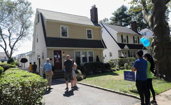 Giá nhà tại Mỹ cao kỷ lục