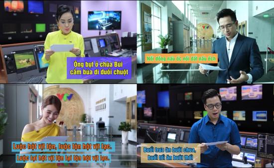 """BTV Hoài Anh """"toát mồ hôi"""" trước loạt câu nói líu lưỡi của """"Vua tiếng Việt"""""""