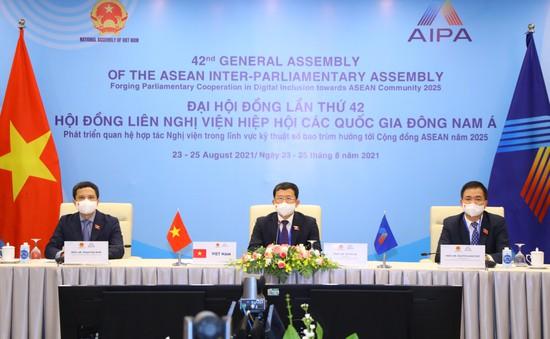 Đại hội đồng AIPA 42: Việt Nam đề xuất thành lập cơ chế hợp tác tăng cường an ninh mạng