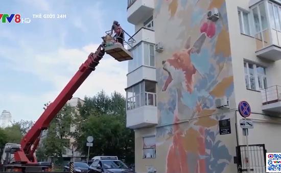 Lễ hội vẽ tranh nghệ thuật đường phố tại Nga