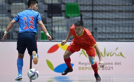Trận giao hữu của ĐT Futsal Việt Nam bị hủy bỏ vì đối thủ mắc COVID-19