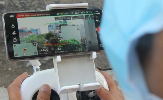 Đà Nẵng dùng flycam kiểm soát người dân chấp hành phòng, dịch tại các ngõ hẻm