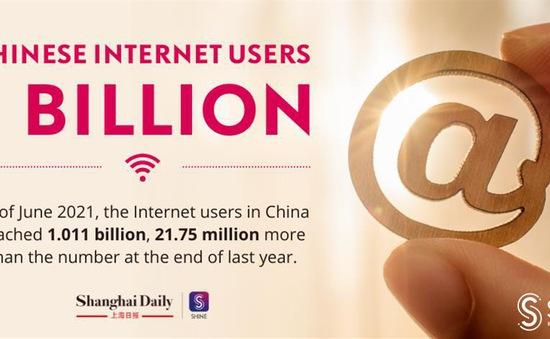 Trung Quốc vượt mốc 1 tỷ người dùng Internet