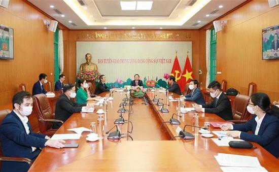 Thúc đẩy hợp tác về nghiên cứu lý luận, tuyên truyền, báo chí Việt Nam - Trung Quốc