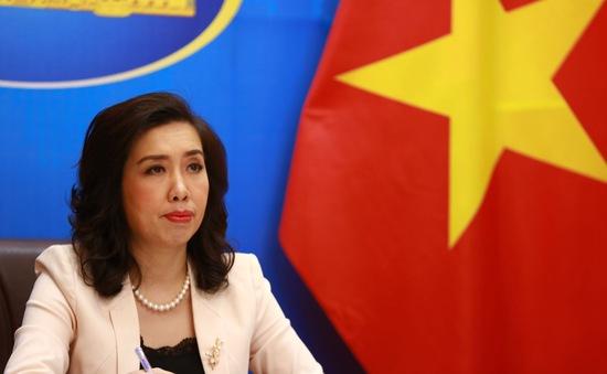 Việt Nam yêu cầu Trung Quốc chấm dứt tập trận tại quần đảo Hoàng Sa