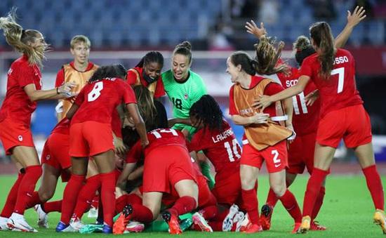 KẾT QUẢ Olympic Tokyo 2020 ngày 6/8: ĐT nữ Canada giành huy chương vàng bóng đá nữ