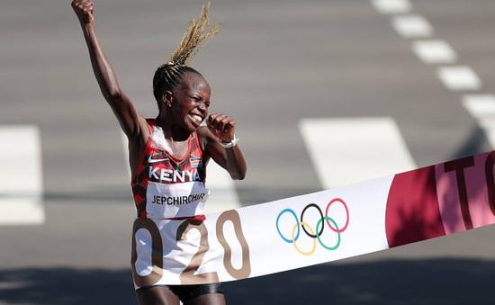 Olympic Tokyo 2020 | Peres Jepchirchir (Kenya) giành HCV marathon nữ