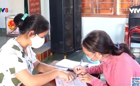 Bình Định: Đẩy nhanh công tác hỗ trợ người lao động gặp khó khăn do dịch