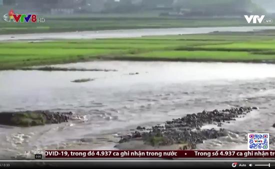 Lũ lụt nghiêm trọng đe dọa gây ra thảm họa thiên tai tại Triều Tiên