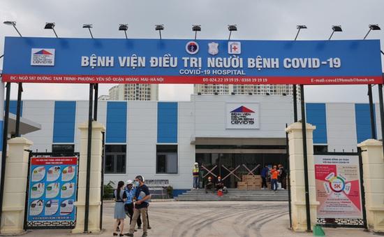 Từ hôm nay (1/9), Bệnh viện điều trị COVID-19 tại Hà Nội tiếp đón bệnh nhân