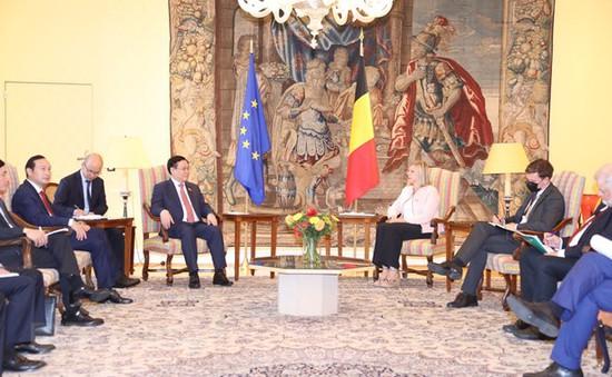 Việt Nam đánh giá cao quan hệ với Bỉ trên mọi mặt