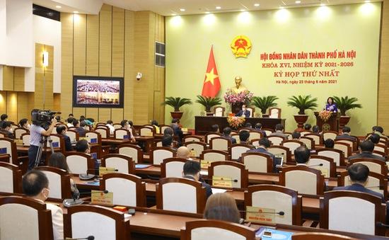 Kỳ họp thứ 2 HĐND Thành phố Hà Nội tổ chức kết hợp trực tiếp và trực tuyến trong hai ngày 22 - 23/9