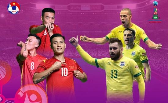ĐT futsal Việt Nam – ĐT futsal Brazil: 0h00 ngày 14/9 trực tiếp trên VTV6, VTV9 và VTVGo