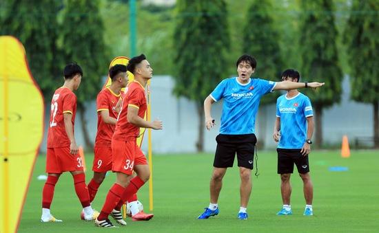 ĐT U22 Việt Nam tập luyện trở lại, chuẩn bị cho Vòng loại U23 châu Á 2022