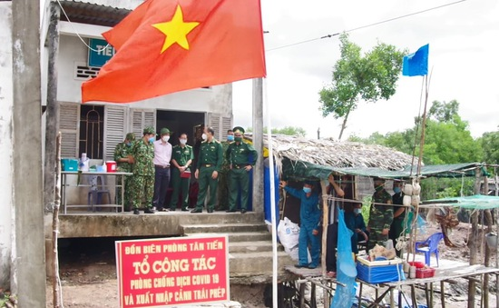 Bộ đội biên phòng tăng cường phòng chống dịch trong dịp lễ 2/9