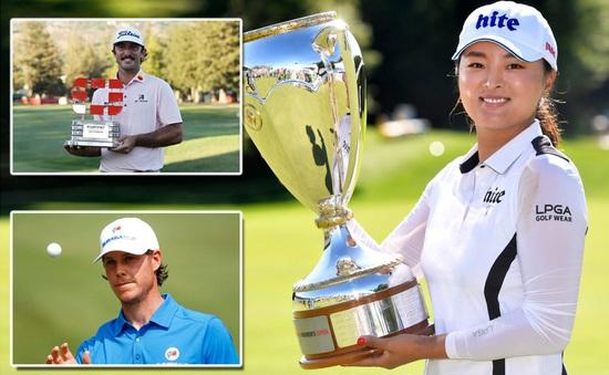 Những nhà vô địch golf cuối tuần qua
