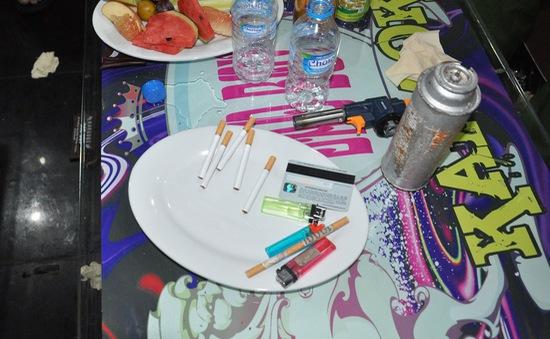 Phát hiện hơn 50 người sử dụng ma túy trong quán karaoke