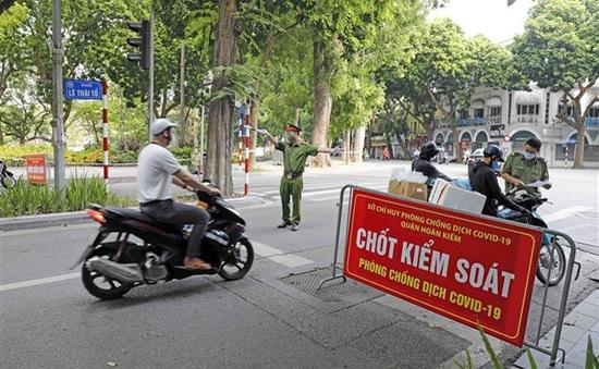 Gần 90% giấy đi đường tại Hà Nội do đơn vị, doanh nghiệp tư nhân cấp