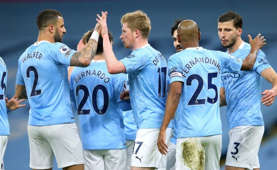 Manchester City sở hữu đội hình có giá trị nhất tại ngoại hạng Anh