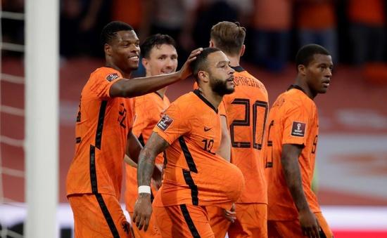 Thắng thuyết phục Thổ Nhĩ Kỳ, ĐT Hà Lan vươn lên dẫn đầu bảng G