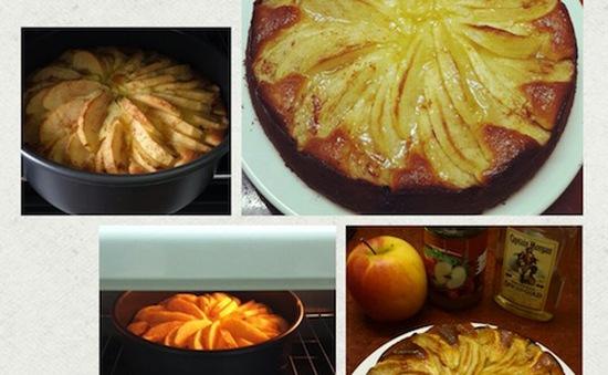 Công thức Bánh táo sữa chua nướng