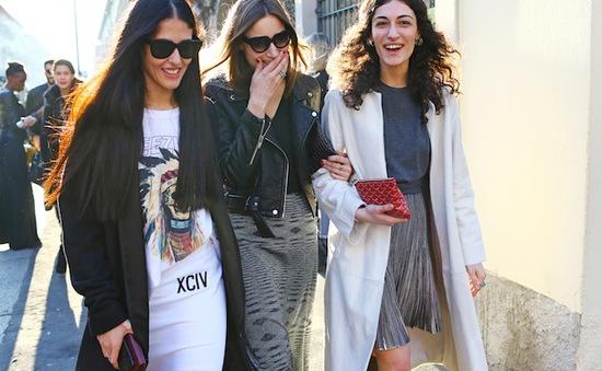 Phong cách đường phố tại Tuần lễ thời trang Milan
