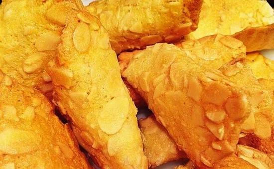 Hương vị ngọt ngào - Bánh mái ngói hạnh nhân