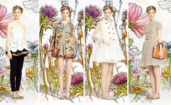 Trẻ trung với thời trang Valentino 2014