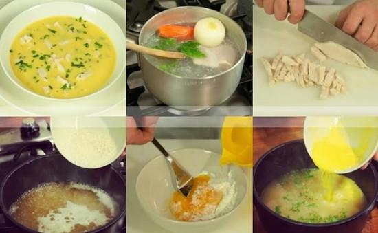 Súp trứng gà thơm ngon - Món ngon không thể bỏ lỡ