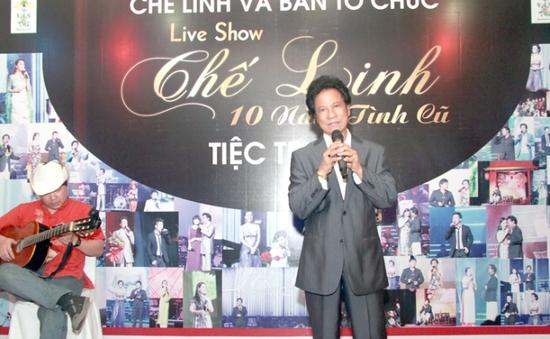 Nghe Chế Linh hát ca khúc mới sáng tác chưa từng hát trên sân khấu